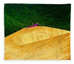 Sand Dune Fun Fleece Blanket
