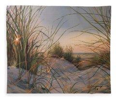 Sand Dunes  Fleece Blanket