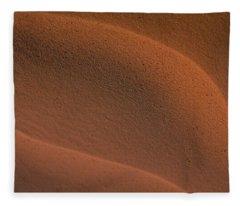 Sand In Sahara Fleece Blanket