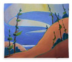 Sandbanks Fleece Blanket
