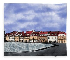 Sandomierz City Fleece Blanket