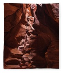 Sandstone Curves Fleece Blanket