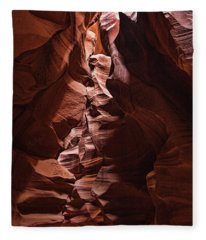 Sandstone Curves Fleece Blanket