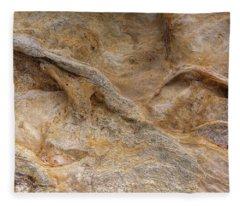 Sandstone Formation Number 4 At Starved Rock State Fleece Blanket
