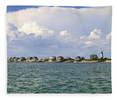 Sandy Neck Cottage Colony Fleece Blanket