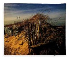 Sandy Neck Winter Light Fleece Blanket