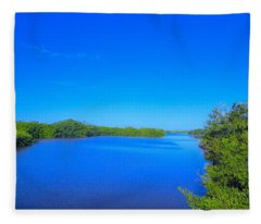 Sanibel Island, Florida Fleece Blanket