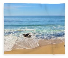 Santa Cruz Private Beach Fleece Blanket