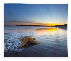 Santa Cruz Starfish Fleece Blanket
