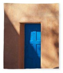 Santa Fe Portal Fleece Blanket
