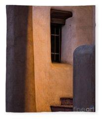 Santa Fe Steps Fleece Blanket