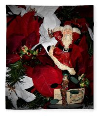 Santa Fling Fleece Blanket