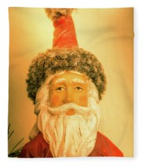 Santa Is Watching Fleece Blanket