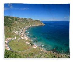 Santa Maria Azores II Fleece Blanket