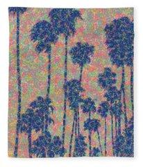 Santa Monica Fleece Blanket