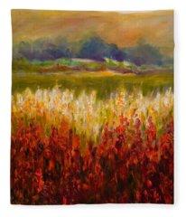 Santa Rosa Valley Fleece Blanket