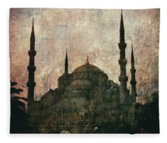 Santa Sofia - Istanbul Fleece Blanket