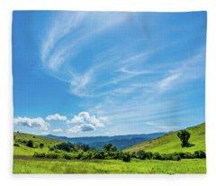 Santa Teresa County Park Fleece Blanket
