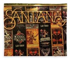 Santana House Of Blues Fleece Blanket