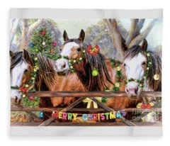 Santa's Helpers Fleece Blanket