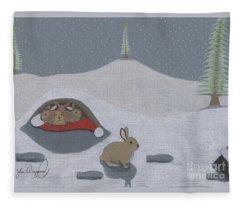 Santa's Ultimate Gift Fleece Blanket