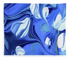 Sapphire Dreams Fleece Blanket