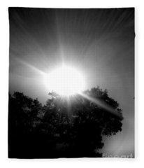 Saturday Sunshine On A Charleston Morning Fleece Blanket