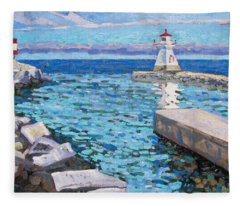 Saugeen Range Light Fleece Blanket