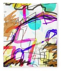 Savage Detectives Poster Bolano Fleece Blanket