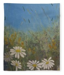 Savage Garden Fleece Blanket