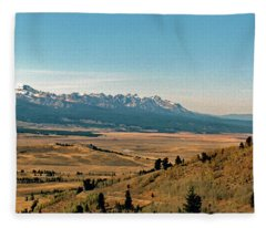 Sawtooth Valley Salmon River Fleece Blanket