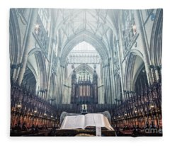 Say Your Prayers Fleece Blanket