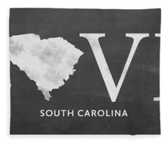 Sc Love Fleece Blanket