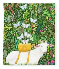 Scapegoat Healing Fleece Blanket