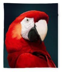 Macaws Fleece Blankets