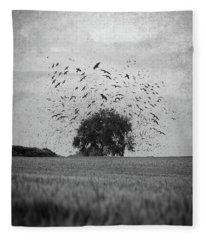 Scattered Fleece Blanket