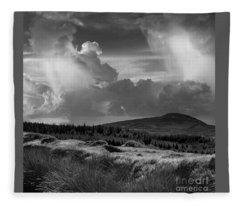 Scattering Clouds Over The Cronk Fleece Blanket