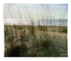 Scene From Hilton Head Island Fleece Blanket