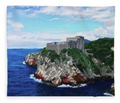 Game Of Thrones Fort St Lawrence Fleece Blanket