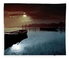 Scenic Fleece Blanket