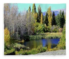 Scenic Splendour Fleece Blanket