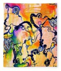 Schlieren Chiarascuro Fleece Blanket