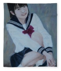 School Uniform Fleece Blanket