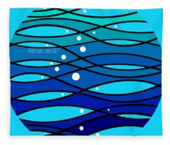 schOOlfish II Fleece Blanket