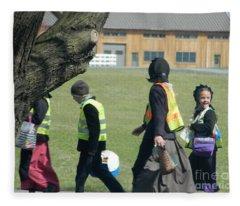 School's Out- Four Fleece Blanket