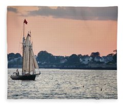 Schooner Alert Fleece Blanket
