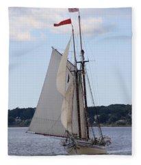 Schooner Heritage Fleece Blanket