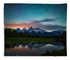 Schwabacher Nights Fleece Blanket