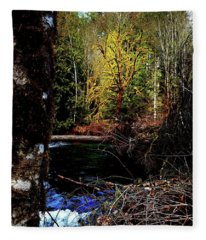 Scoggins Creek 3 Fleece Blanket