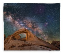 Scorpius And Its Arch Fleece Blanket